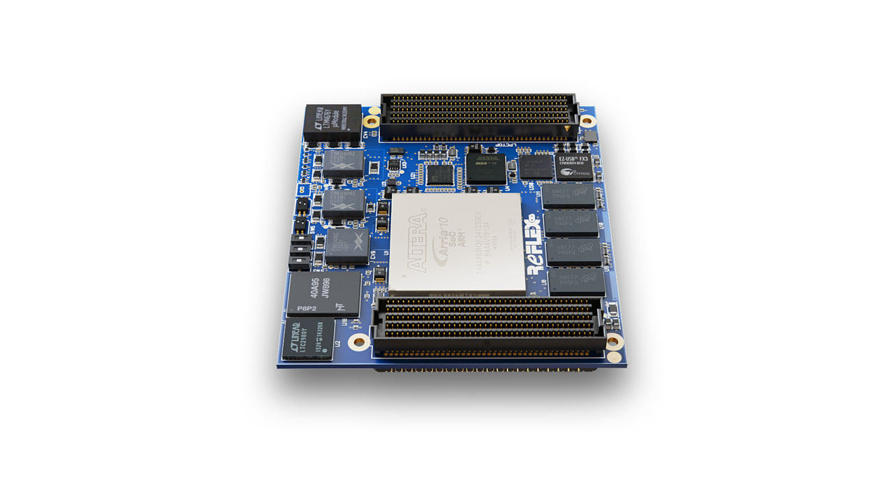 Arria 10 Soc Som Reflex Ces Using Circuit Boards The Designer Created Two Chic Board 100