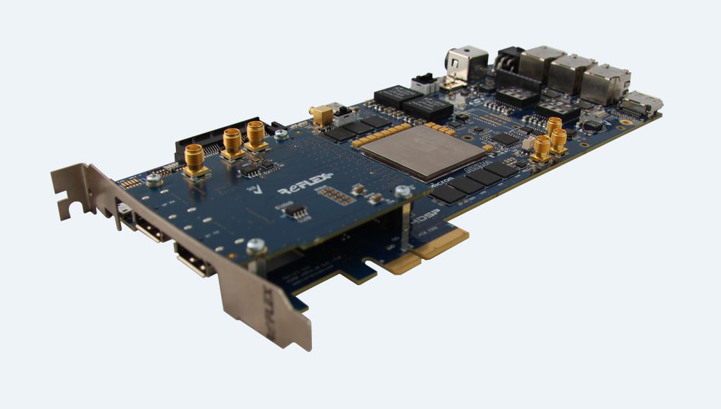 Alaric Arria® 10 SoC FMC PCIe DevKit - REFLEX CES