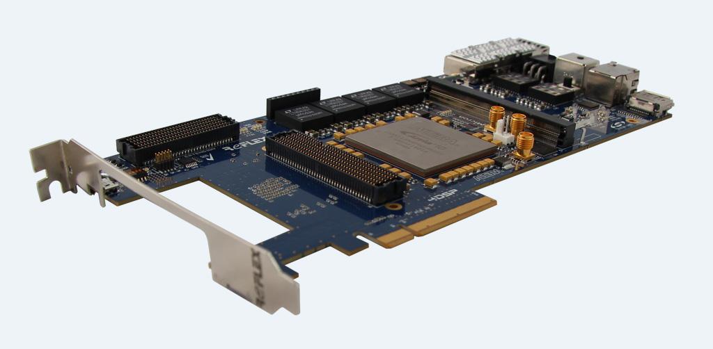 Arria 10 GX FMC PCIe board - REFLEX CES
