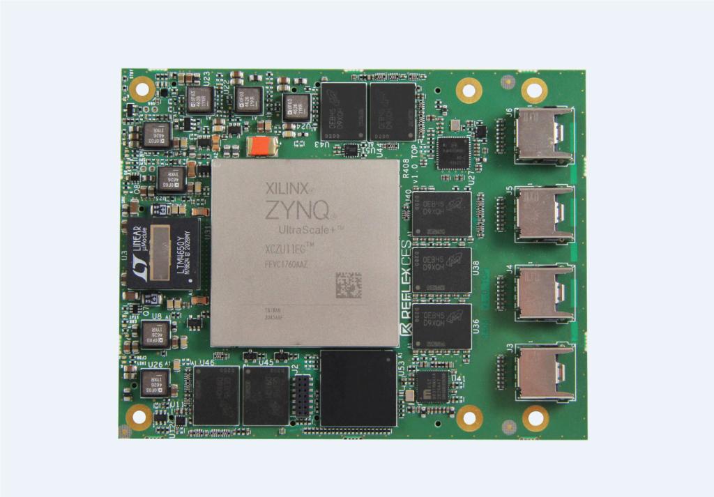 Image Zeus Zynq® UltraScale+™ MPSoC System-on-Module